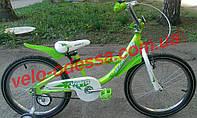 Детские двухколесные велосипеды Viva 20 салатовый зеленый