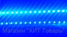 Лента светодиодная синяя LED 3528 Blue 60RW - 5 метров в силиконе!Акция, фото 3