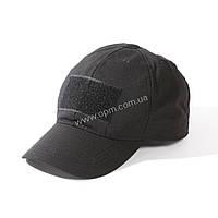 Тактическая бейсболка с Velcro (липучки) Черная