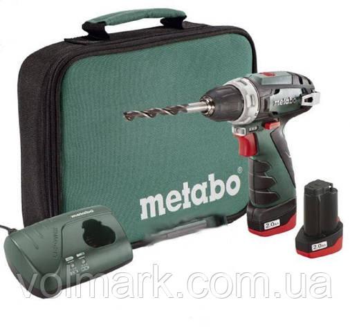 Акумуляторний шуруповерт Metabo PowerMaxx BS, фото 2