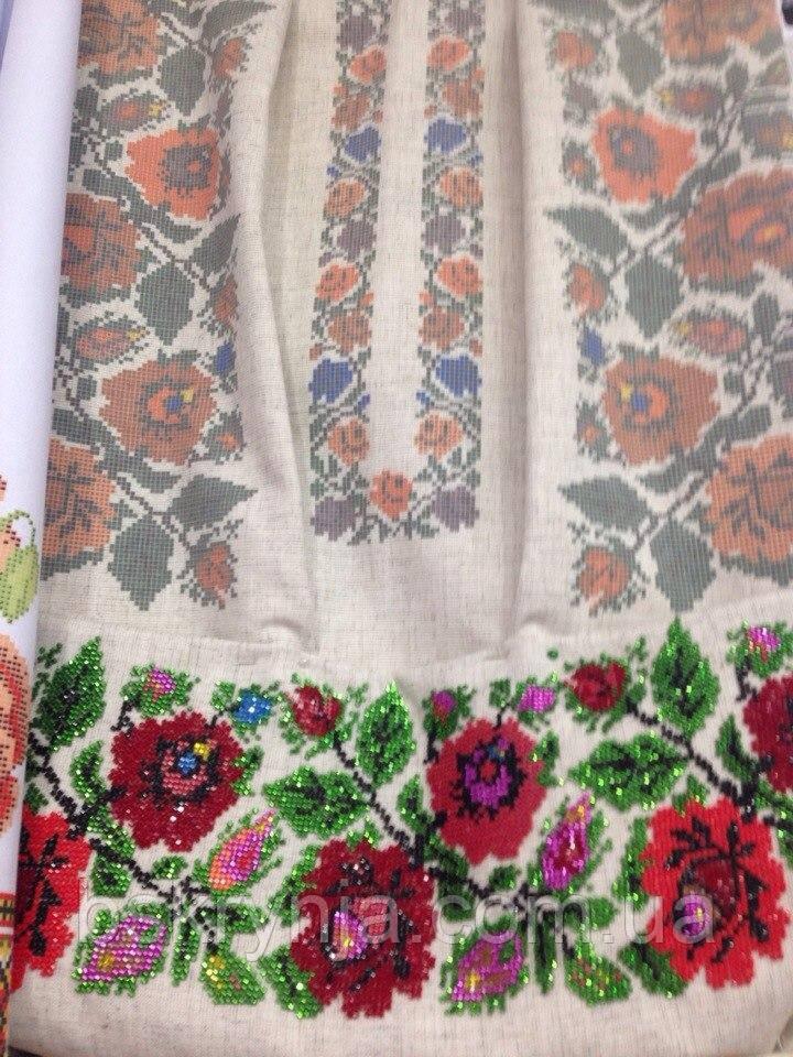 ... Заготовка Борщівської жіночої сорочки для вишивки нитками бісером БС-50( 1) 12398583de326