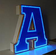 Буквы световые с подсвеченным периметром