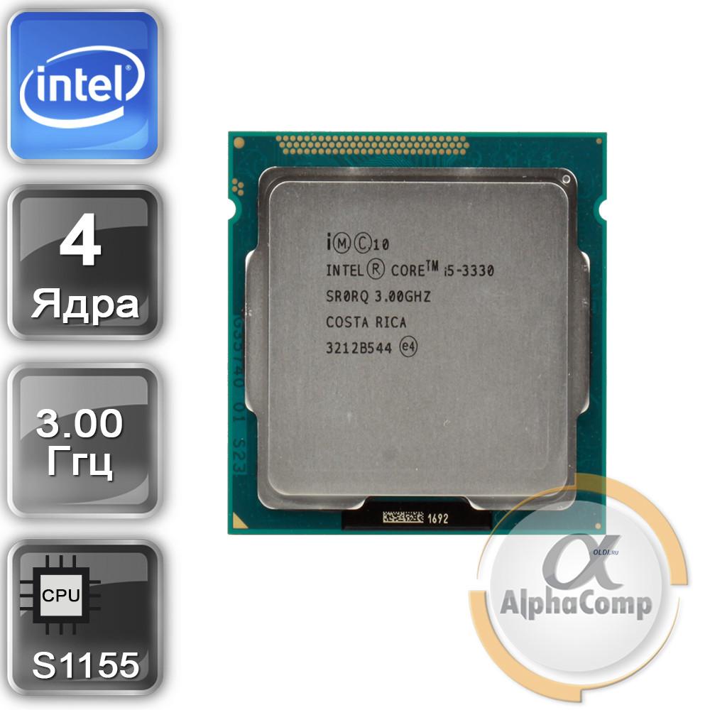 Процесор Intel Core i5 3330 (4×3.00 GHz/6Mb/s1155) БО