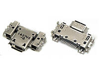 Разъём системный Asus PadFone Infinity A80, А86, PadFone X, A91, T003, T00D, PadFone S, PF500KL 13 pin, лицензия