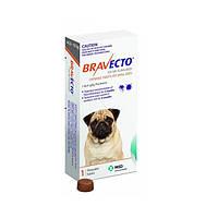 Бравекто жевательная таблетка от клещей и блох для собак  4,5-10  кг