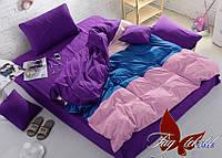 Комплект постельного белья поплин Тм Таg евро размер 018