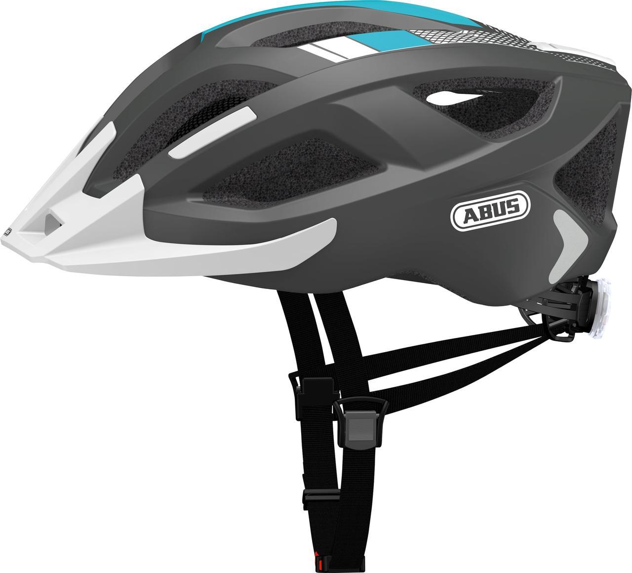 Велошлем  ABUS ADURO 2.0 Race Grey (M)