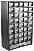 "Органайзер  пласт. 12"". 310х138х490 мм. (MJ2047), 41 ячейка."