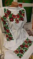 Заготовка Борщівської жіночої сорочки для вишивки нитками/бісером БС-50(2), фото 1