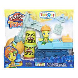 """Игровой набор Play-Doh  """"Город. Экскаватор""""  пластилин"""