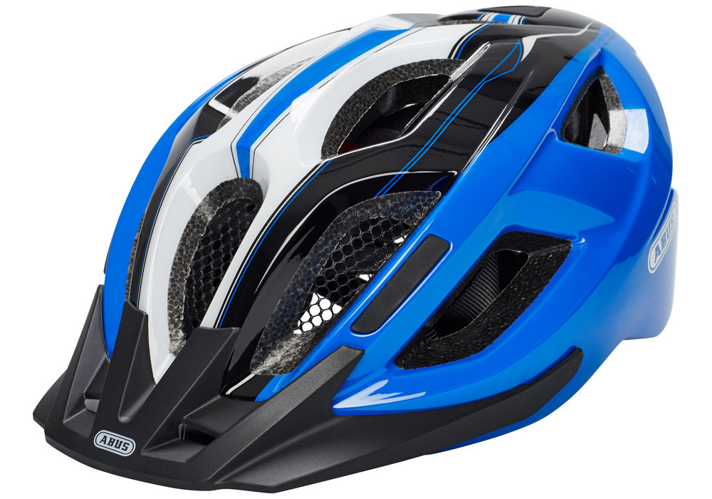 Велошлем   ABUS ADURO 2.0 Race Blue (M)