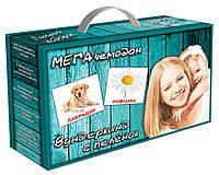 """МЕГА чемодан """"Вундеркинд с пелёнок""""(24 набора карточек)"""