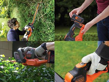 Аккумуляторные ножницы для живой изгороди GTC36552PC-QW