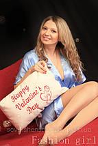"""Подарочная подушка """"Happy Valentine's Day"""", фото 3"""