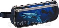 Пенал  на 2 отделения c акулой (Deep Sea)643-4