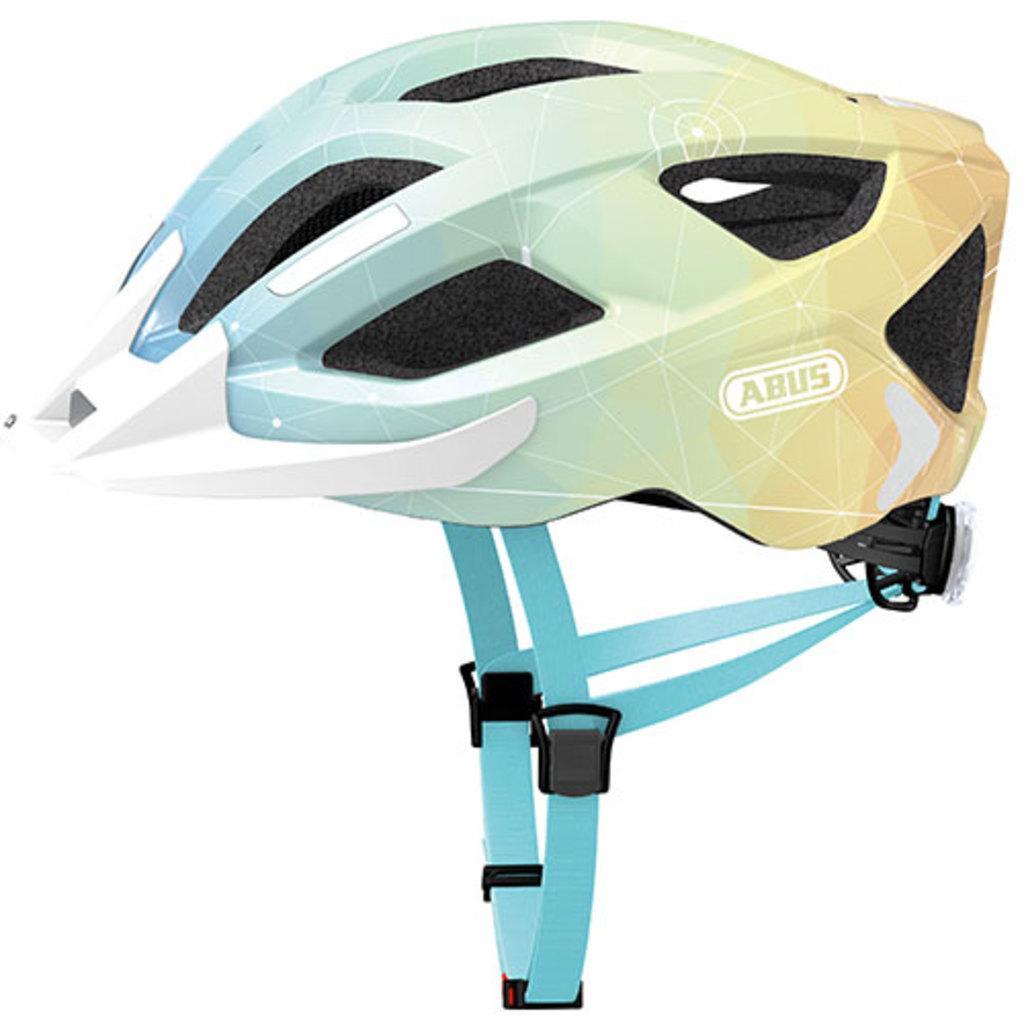 Велошлем   ABUS ADURO 2.0 Blue Art (M)