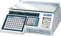 Весы с печатью этикетки cas LP 1.5 (без стойки)
