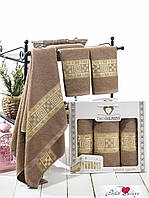 Полотенца махровые 50х90  Krinkil Greek цвета в ассортименте