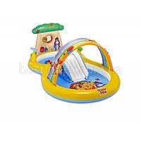 Детский надувной центр Intex 57136 «Винни Пух», 282 х 173 х 107 см