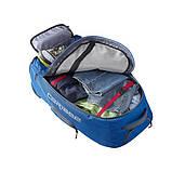 Дорожный рюкзак-трасформер Caribee Europa 75 Atlantic Blue (комплект), фото 4