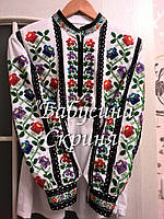 Заготовка Борщівської жіночої сорочки для вишивки нитками/бісером БС-57, фото 1