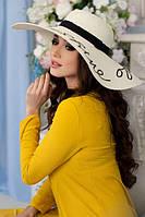 Соломенная шляпа «Бэль»