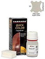 Крем-восстановитель для гладкой кожи Tarrago Quick Color, 25 мл, цв. серебряный металлик (501)