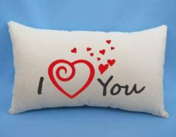 "Подарочная подушка ""I LOVE YOU"", фото 2"