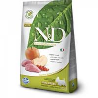 FARMINA N&D GRAIN FREE BOAR APPLE MINI DOG 7 кг