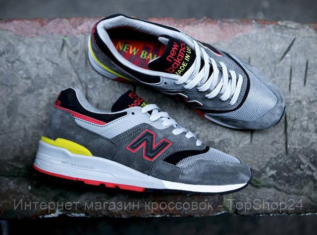 Кроссовки New Balance 997 Натуральный замш