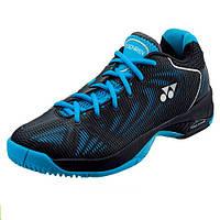 Теннисные кроссовки Yonex SHT-FUSIONREV black/sky-blue