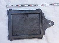 Задвижка чугунная для дымохода большая (300х260 мм)