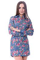 Платье-рубашка K&ML 446
