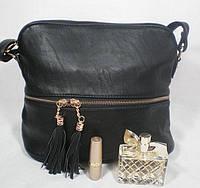 Практичная небольшая женская сумка-мешок на каждый день