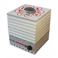Сушильный аппарат для овощей,фруктов,грибов,лек.трав,мяса Profit-M на 35 л (металл)