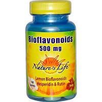Natures Life, Биофлавоноиды, 100 таблеток