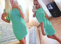 Платье короткое Нежность