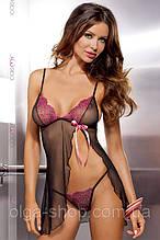Babydoll комплект - сексуальная сорочка пеньюар и стринги Casmir (эротическое женское нижнее белье)