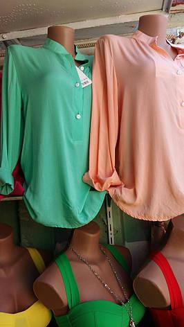 Женская рубашка Штапель , фото 2