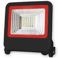 Прожектор светодиодный EUROELECTRIC LED-FL-30(black)new SMD чорный с радиатором NEW 30W 6500K