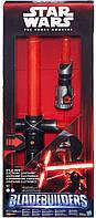 Cветовой электронный меч Кайло Рена Звездные Войны Star Wars Hasbro, фото 1