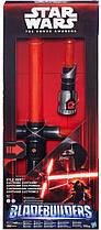 Cветовой электронный меч Кайло Рена Звездные Войны Star Wars Hasbro