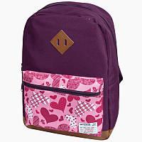 Рюкзак Simple Purple Heart ZB17.0614PH ZiBi