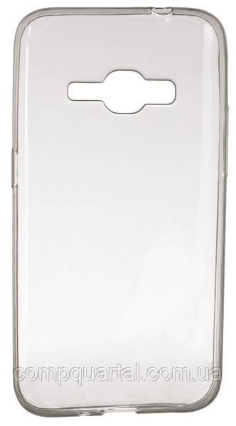 Чохол для смартфона DiGi Samsung J1(2016)/J120 - TPU Clean Grid Transparent (6287628)