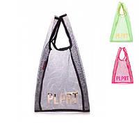 Женская сумка-авоська Poolparty plprt-mesh-tote