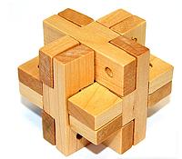 """Головоломка деревянная """"крест гвозядми"""""""