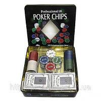 Покер, набор для покера на 100 фишек
