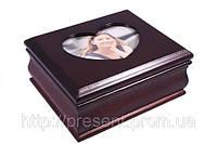 Шкатулка для украшений с рамочкой для фото 9001