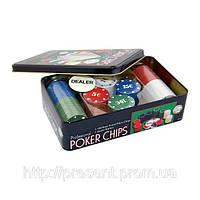 Фишки для покера 100 штук