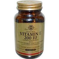 Solgar, Vitamin E, Mixed Tocopherols, 200 IU, 100 Softgels